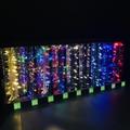 亞克力展示架 有機玻璃聖誕燈展示架 發泡板展示架 led展示架 4