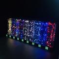 亞克力展示架 有機玻璃聖誕燈展示架 發泡板展示架 led展示架 5