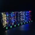 亞克力展示架 有機玻璃聖誕燈展示架 發泡板展示架 led展示架 8