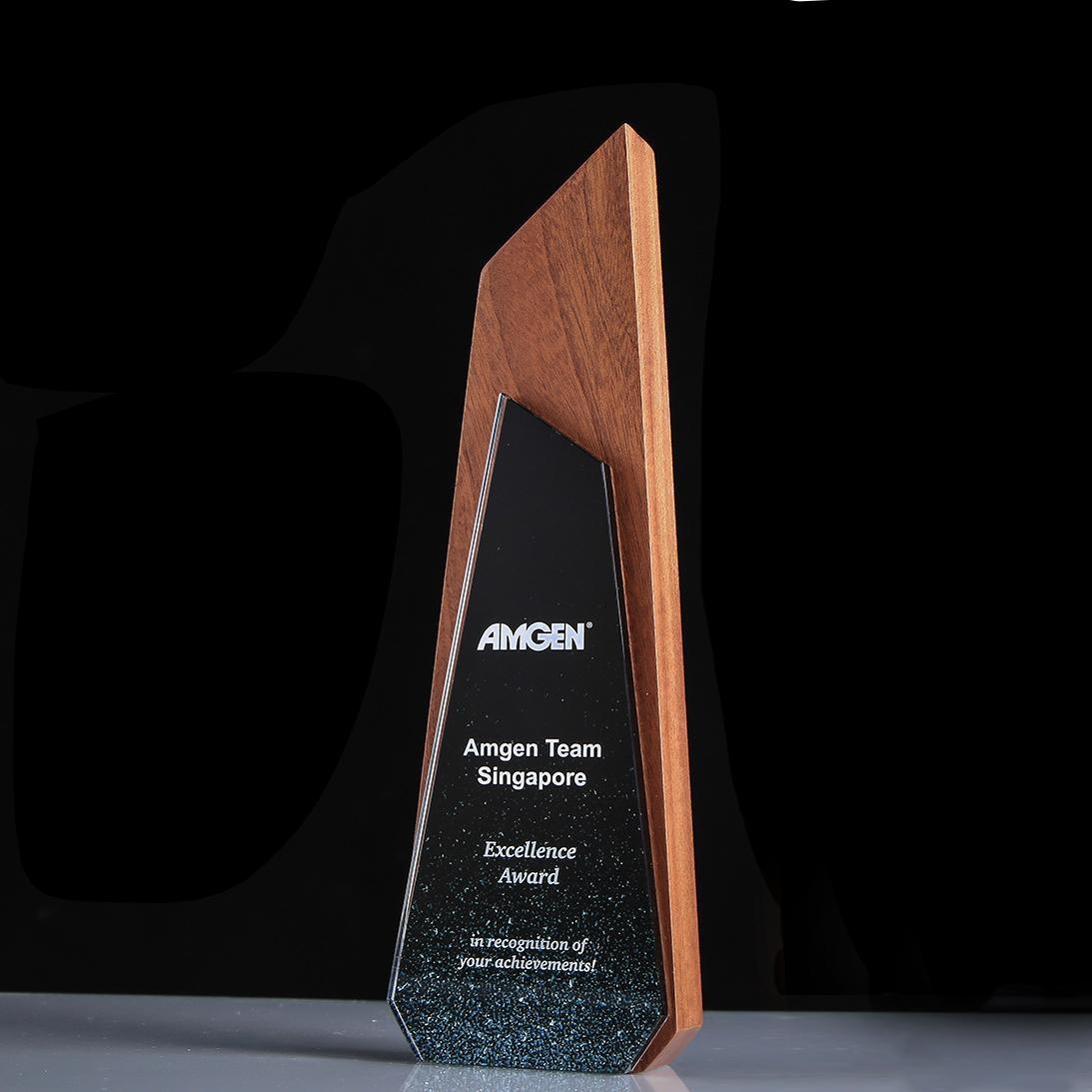 獎杯定製定做創意水晶獎杯獎牌五角星  員工年會頒獎獎品可刻字