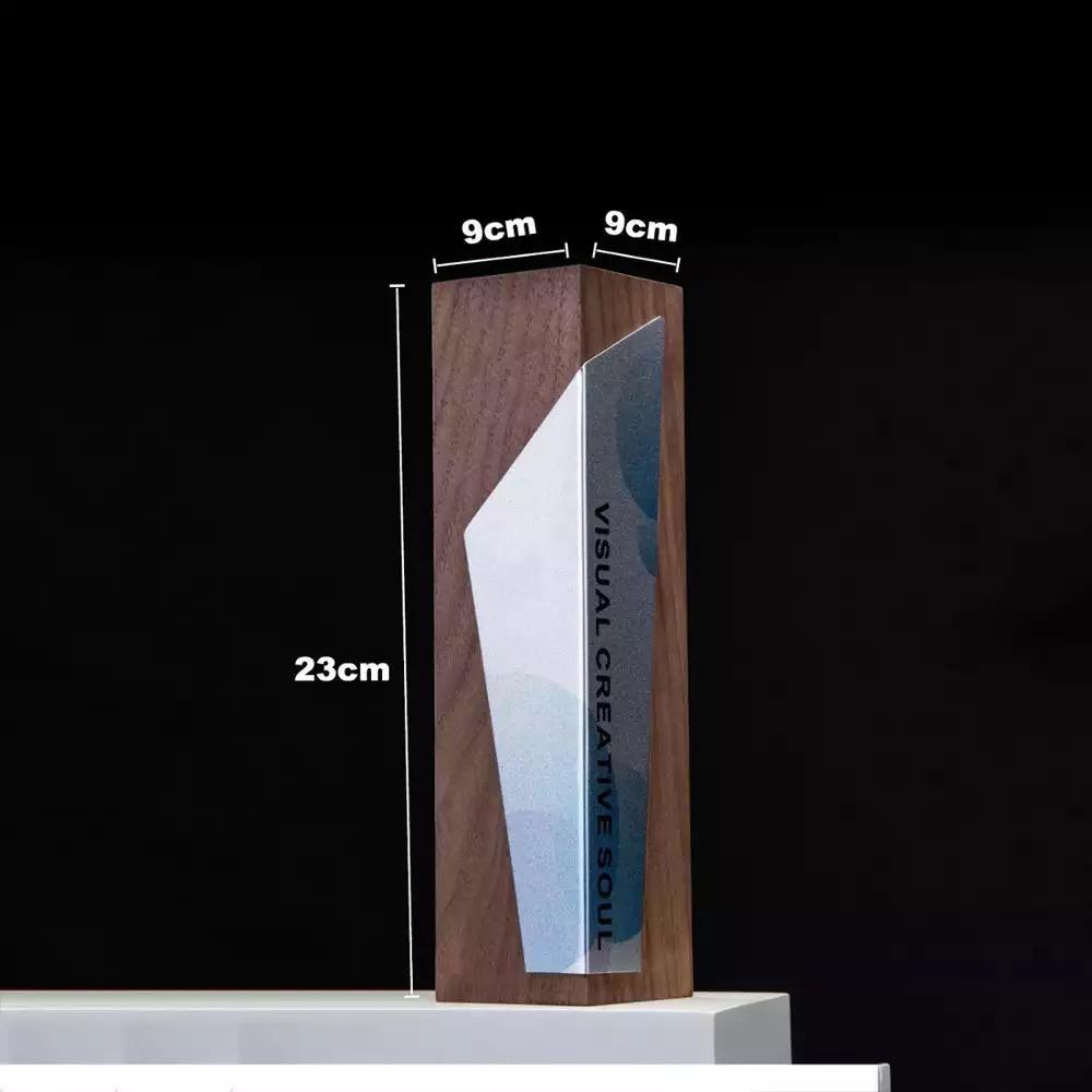 水晶獎杯定製刻字創意木質馬拉松比賽獎杯獎牌定做  員工頒獎杯
