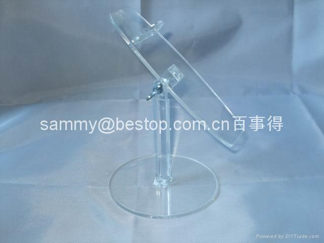 acrylic shoes display stand(riser) 1