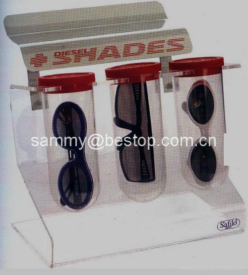 壓克力眼鏡陳列架 1