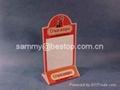 壓克力餐牌,有機玻璃-餐牌座(