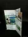 acrylic menu holder/table tent/sign holder