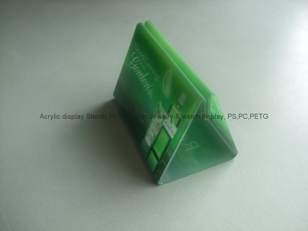 有机玻璃-餐牌座(acrylic menu holder) 2
