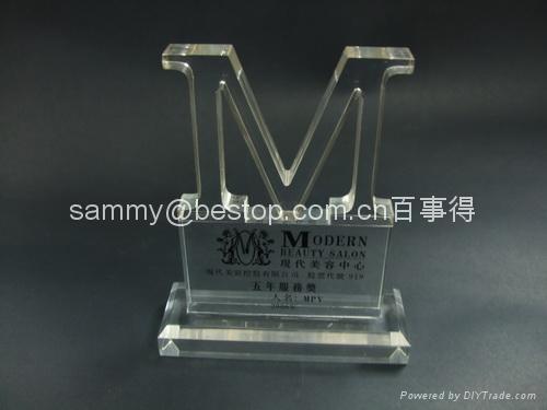 Acrylic Paperweight, Acrylic Award, Acrylic Trophy  1