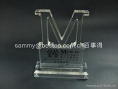 有機玻璃-獎座,獎牌