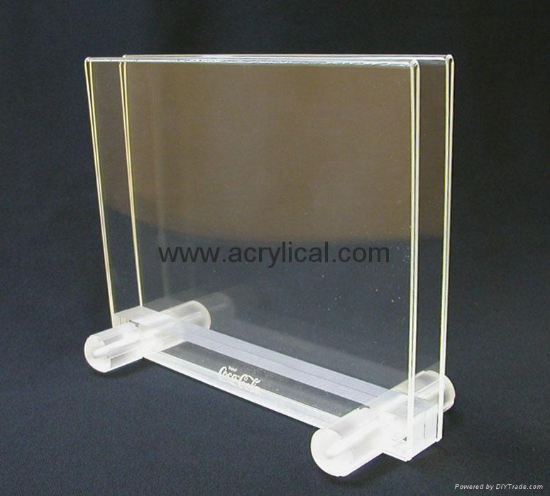 acrylic menu holder  210x297mm