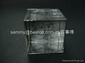 acrylic photo cube