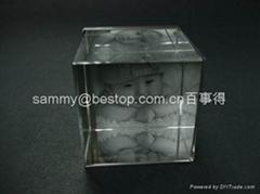 磁石相框,亚克力相框,压克力相框, 透明水晶相架
