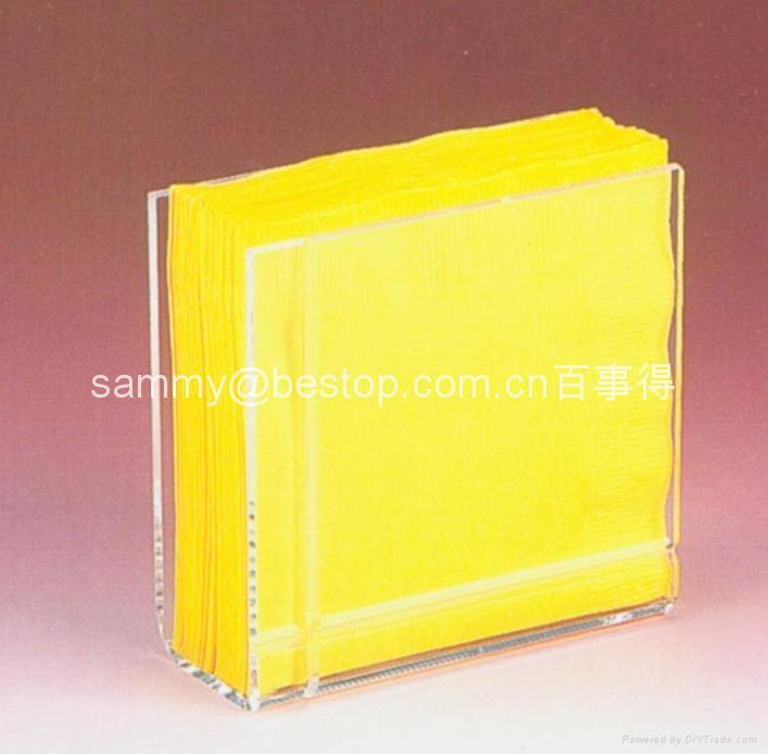 Acrylic candel holder