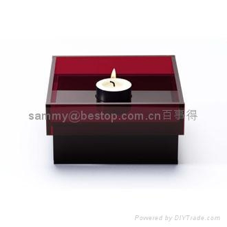 100x100x10mm candle holder