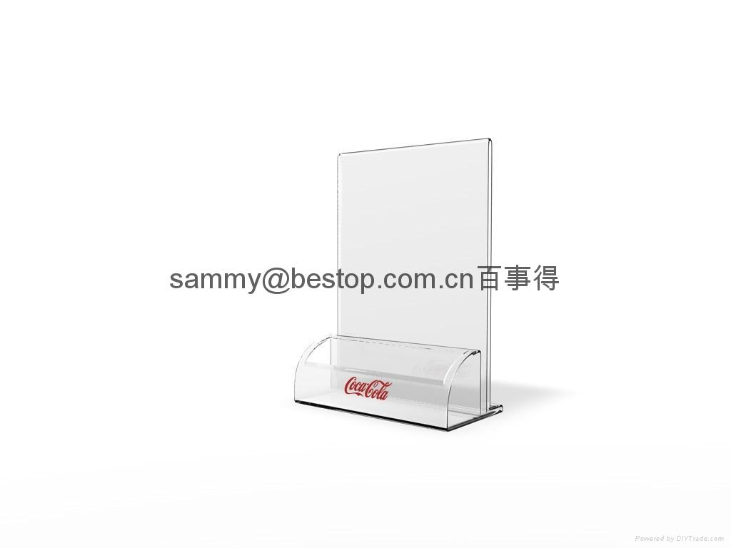 menu holder 2mm thickness