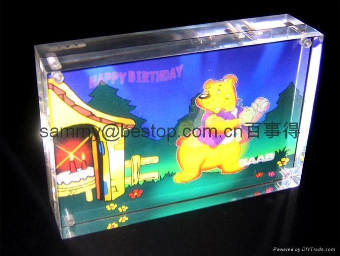 acrylic photo frame  5R 5