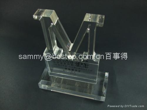 Acrylic Paperweight, Acrylic Award, Acrylic Trophy  3
