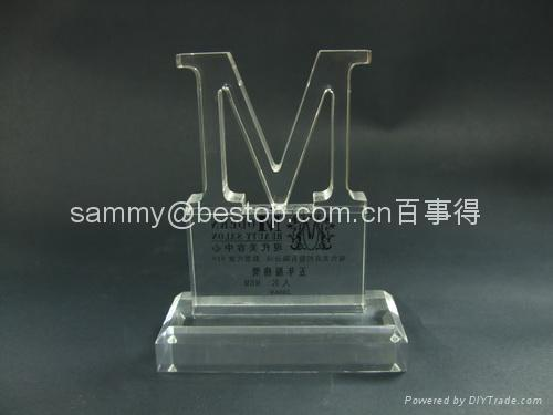 Acrylic Paperweight, Acrylic Award, Acrylic Trophy  5