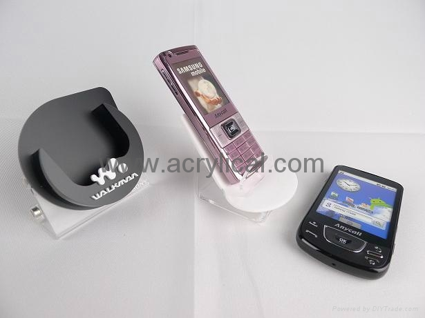 acrylic cell phone display stand
