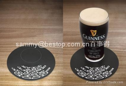 acrylic coaster  with photo frame   10x10cm thickness 4mm