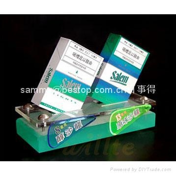 Countertop display,Acrylic Cigarette Display ,Cigarette POP display stand,Cigarette Carbinet