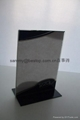 acrylic menu holder/table tent/sign holder/SIGN HOLDER