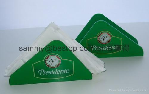 有机玻璃纸巾架(广告促销) 5