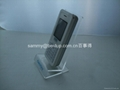 Acrylic mobile phone display stand /cell