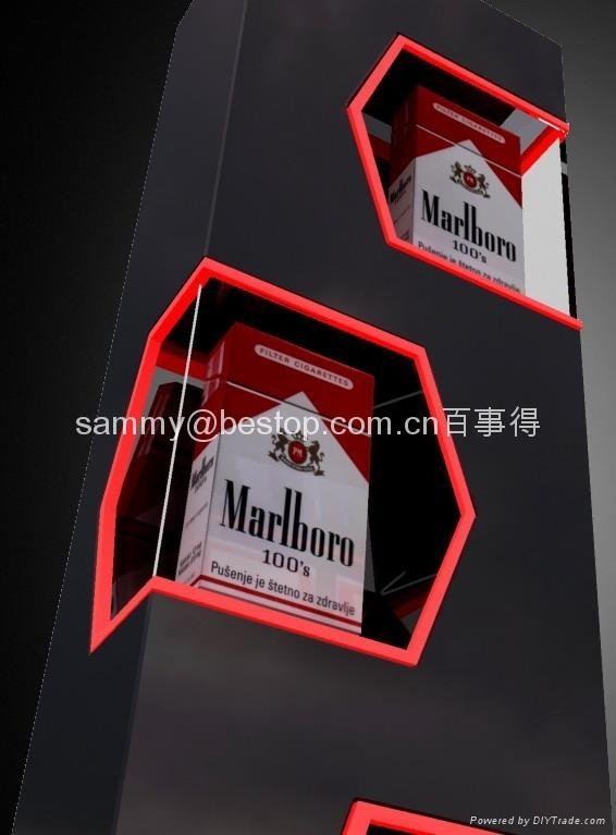 POP display stand,Acrylic Cigarette Display ,Cigarette POP display stand,Cigarette Carbinet