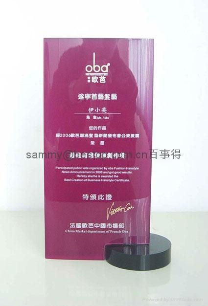 Acrylic Awards / Trophy / Plaques