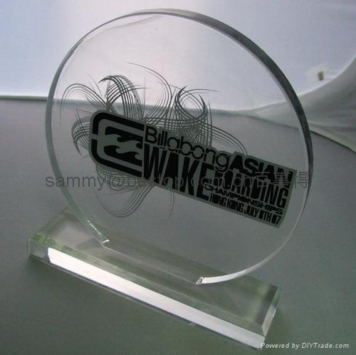acrylic award/Acrylic Awards / Trophy / Plaques