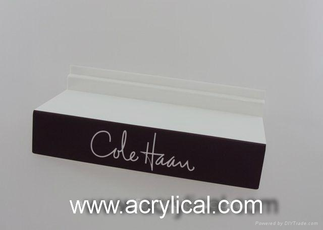 acrylic shoe riser