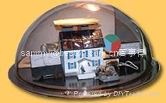acrylic dome diameter 400mm
