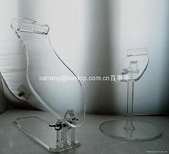 有機玻璃鞋架(展示架)