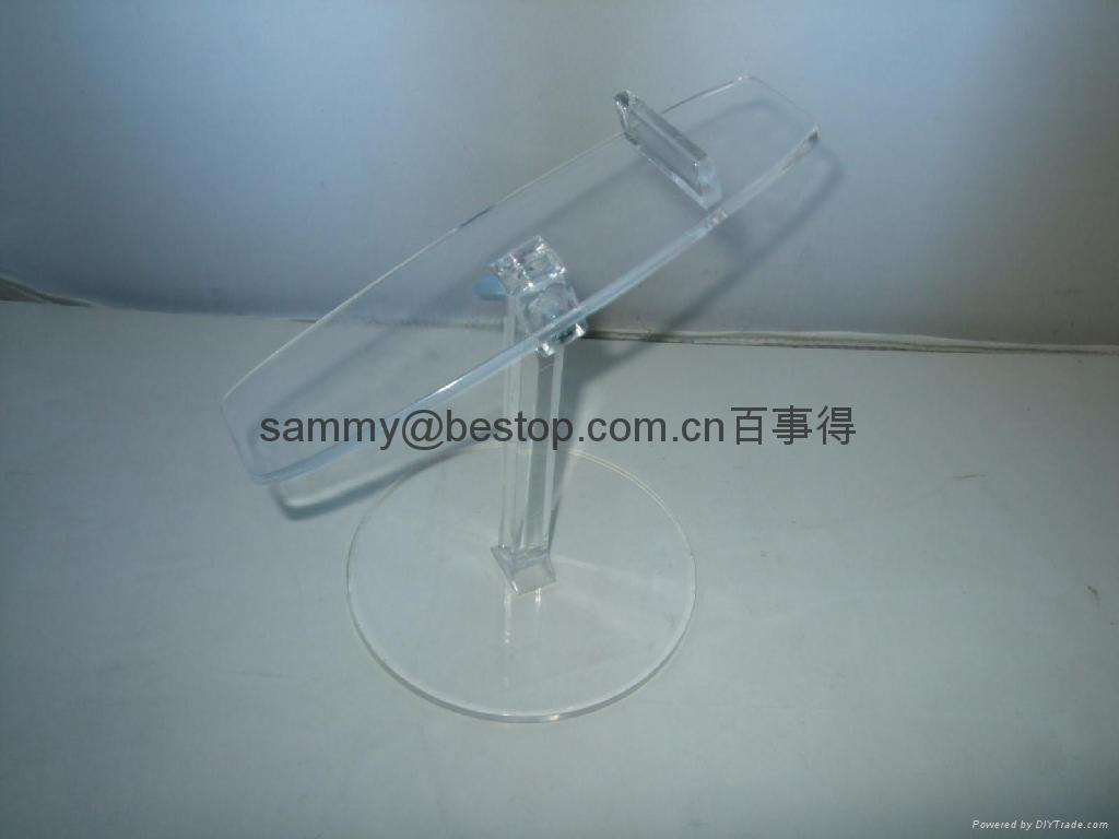 acrylic shoes display stand(riser) 4