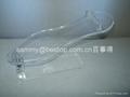 有機玻璃鞋架/acrylic shoe riser 2