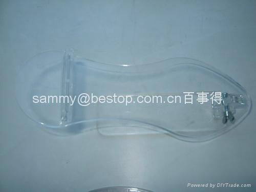有機玻璃鞋架/acrylic shoe riser 5