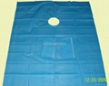 Fenestrated Drape Without Adhesive