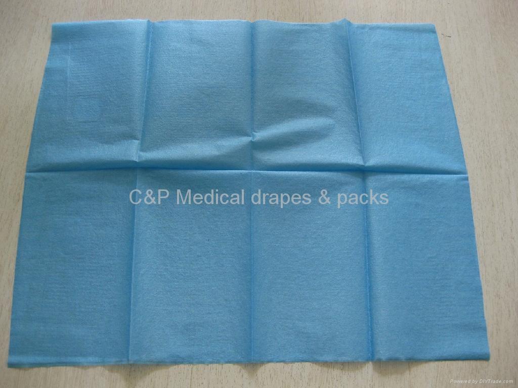 2ply single surgical drape