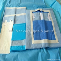 Sterile Disposable Laparotomy  pack (Hot Product - 1*)