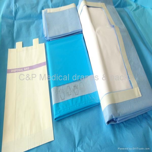 Laparotomy  set