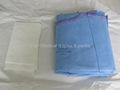 Surgical gown pouch packing