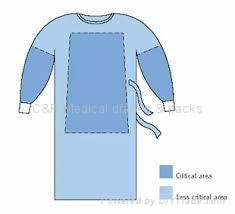 Impervious &Reinforced Surgical Gown