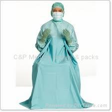特殊加长型手术衣