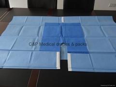 Body Split Surgical Drape