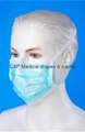 Surgical face masks with tie