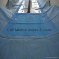 Cardio  incise drape