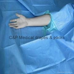 手足单手术包带手术衣