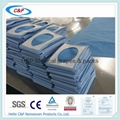 Sterile fenestrated drape