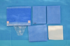 Disposable Sterile Gynaecology Pack