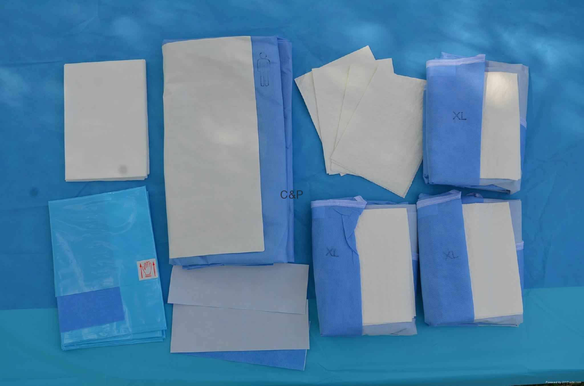 Caesarean surgical pack